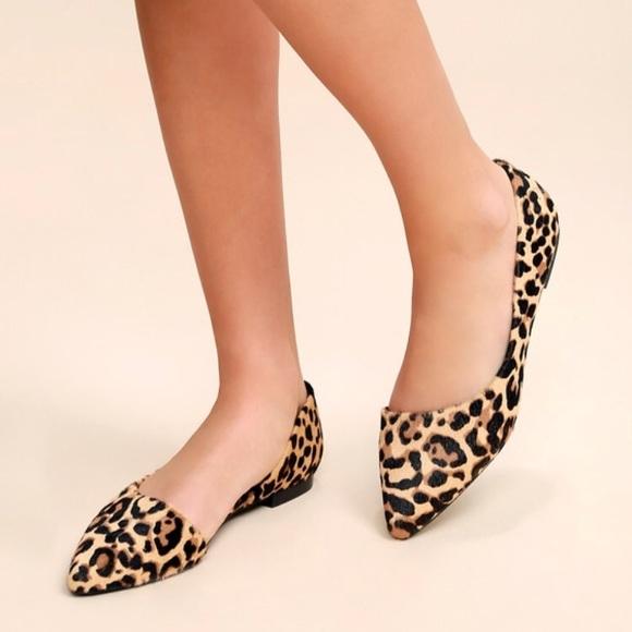 7bf17051aa6 Audriana Leopard Flat | Steve Madden | Size: 8